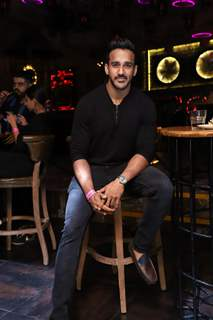 Rohit Reddy snapped at Anita Hassanandani and Pearl Puri's song launch