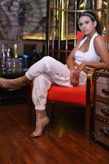 Nia Sharma snapped at Pearl Puri's song launch