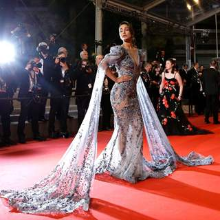 Hina Khan Makes Her Cannes Red Carpet Debut In A Ziad Nakad Gown!
