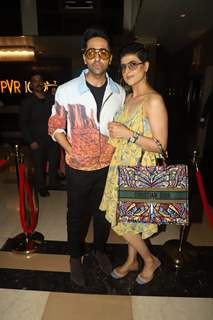 Ayushmann Khurrana and wife Tahira Kashyap spotted at special screening of 'De De Pyar De'