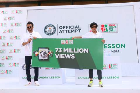 Anil Kapoor and Mandira Bedi reveals the final views of sons share the load movement- 73 million