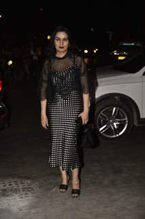 Padmini Kolhapure at Anil Kapoor's wedding Anniversary Party