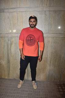 Arjun Kapoor snapped at special screening of India's Most Wanted.