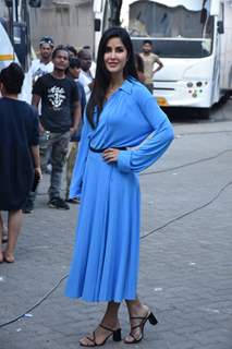 Katrina Kaif snapped at promotions of 'Bharat'