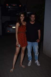 Disha Patani and Varun Sharma snapped around the town!