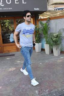 Tusshar Kapoor snapped around the town!