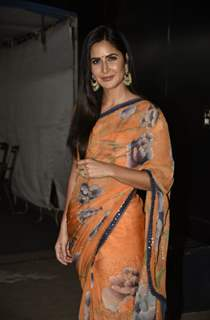 Katrina Kaif snapped at the promotions of Bharat