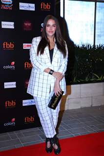 Neha Dhupia spotted at Miss India 2019 curtain raiser