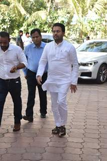 Abhishek Kapoor at Veeru Devgan prayer meet