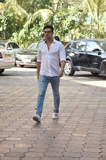 Zayed Khan at Veeru Devgan prayer meet