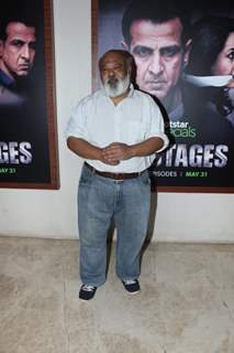 Saurabh Shukla snapped at the screening of upcoming show Hostage