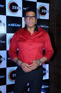 Mukesh Rishi at the Zee5 web series Abhay success party