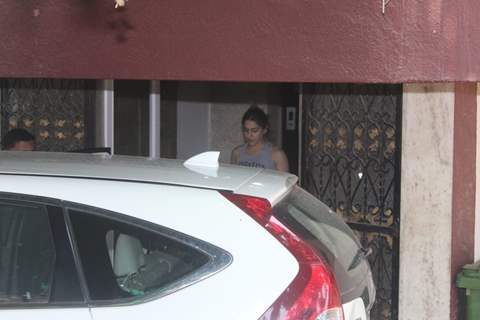 Sara Ali Khan spotted around the town