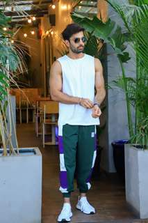 Himansh Kohli spotted around the town