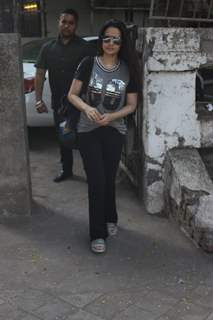 Ameesha Patel spotted around the town