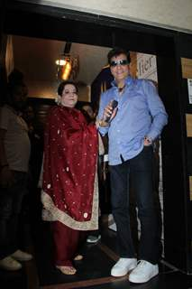 Shobha Kapoor and Jeetendra at Lakshya's birthday party