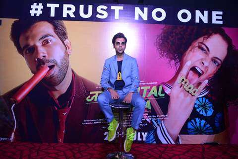 Bollywood celebrities at the trailer launch of Judgementall Hai Kya