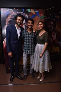 Bollywood celebrities at the special screening of Malaal!