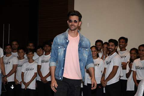 Hrithik Roshan at the promotions of Super 30