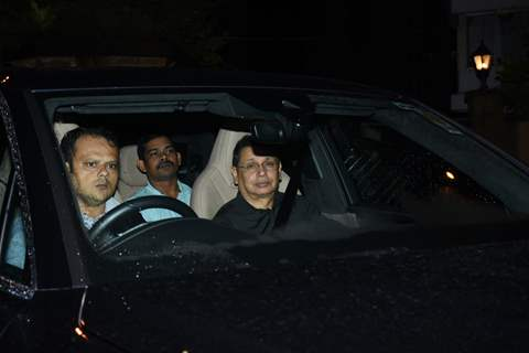 Bollywood Celebrities snapped at Karan Johar's house