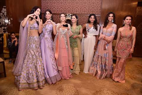 Warina Hussain, Aahana Kumra, Anupriya Goenka, and Rashami Desai snapped at India Couture Week 2019