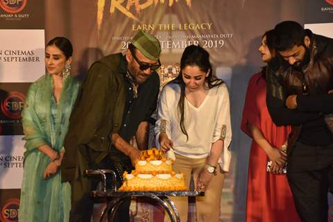 Bollywood celebrities at the trailer launch of Prasthanam!