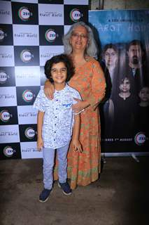 Celebrities snapped at the Screening of Zee 5 Barot House
