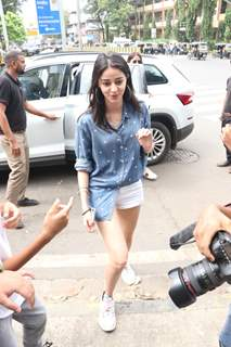 Ananya Pandey spotted outside Bastian