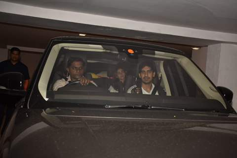 Ayan Mukerji snapped around the town