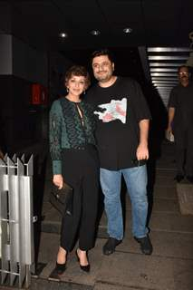Sonali Bendre and Goldie Behl were spotted after dinner with friends
