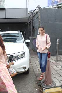 Dia Mirza spotted around the town