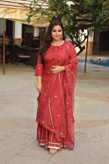 Vidya Balan enjoys the success of Mission Mangal!