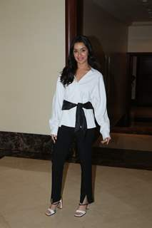 Shraddha Kapoor snapped during the promotions of Saaho