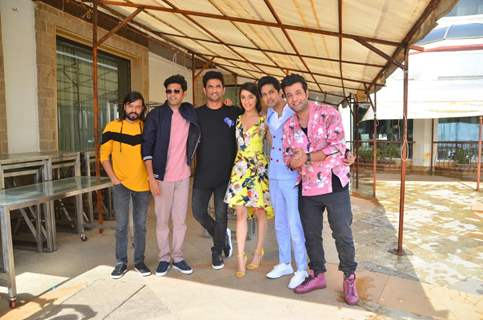 Chhichhore cast at Sun n Sand for promotions!