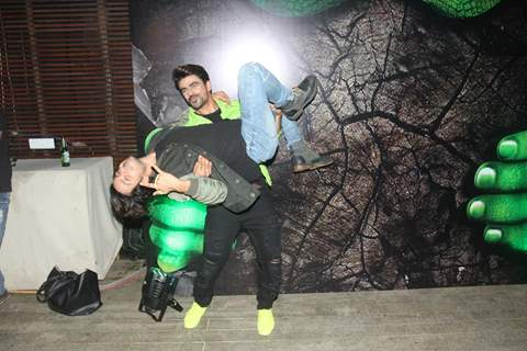 Ankit Mohan and Param Singh at Haiwan Launch party
