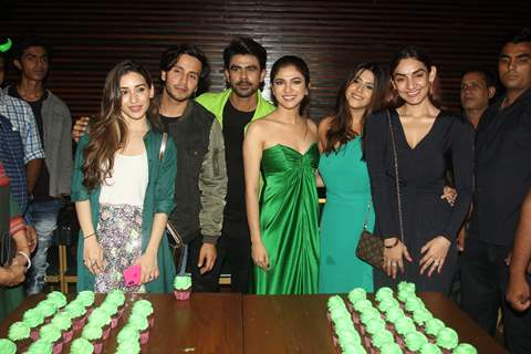 Heli Daruwala, Ankit Mohan, Ridhima Pandit, Param Singh and Ekta Kapoor at Haiwan launch party