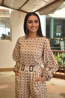 Shraddha Kapoor at the promotions of Chhichhore!