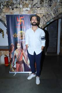 Nakuul Mehta at Chandragupt Maurya Farewell party