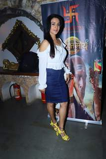Rati Pandey at Chandragupt Maurya Farewell party