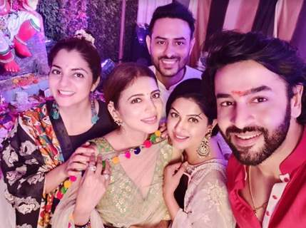 Shashank Vyas with friends