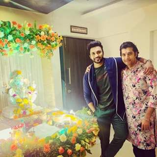 Ssharad Malhotra and Zuber k khan