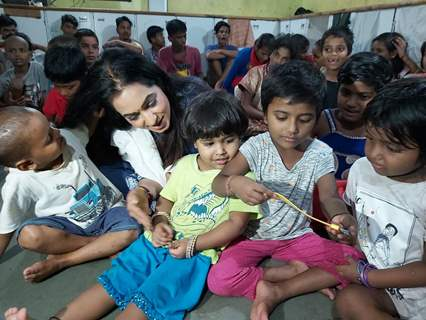 Sangeeta Kapure in Orphanage