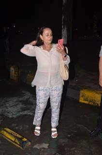 Soni Razdan snapped around the town!