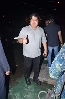 Sajid Khan snapped around the town!