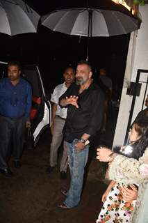 Sanjay Dutt snapped around the town!