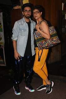 Ayushmann Khurrana and Tahira Kashyap snapped around the town!