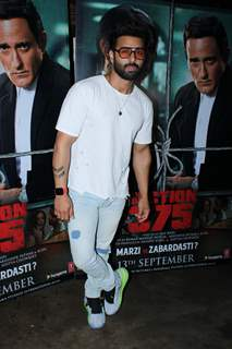Bollywood celebrities attended the screening of Section 375