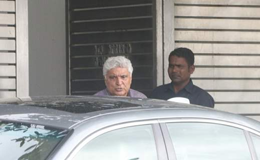 Javed Akhtar snapped around the town!