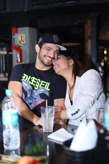 Arjun Bijlani and Neha Swami