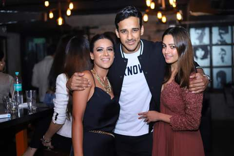 Nia Sharma, Anita Hassanandani and Rohit Reddy
